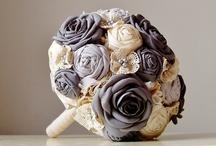 Fabric Bouquet / Fabric Bouquet, wedding bouquet