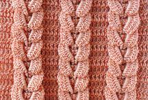 picot crochet blanket