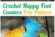 free happy feet rug pattern