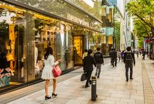 Best Cities for Shopping / Inspiration for the best shopping destinations around the world.