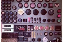 magnetic makeup board organizers / by carree anne