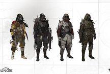 futuristic militia