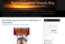 Work From Home Wizards Blog / Easy home based ad typing and data entry jobs from home.