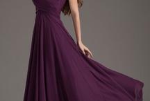 Stunning dress / Stunning plum dress long and elegant
