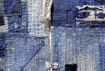 Boro Stitching / embroidery and fabric art