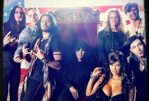 Pop Evil's Boss's Daughter Video Set / Pop Evil just shot their video for Boss's Daughter with Playmate Jessa Hinton and Mötley Crew legend Mick Mars