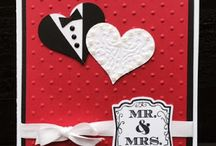 Stampin Up Wedding Cards / Don't you just love weddings?  I know I sure do!  And there's nothing sweeeter than giving the new Mr. and Mrs. a card that you made yourself to show them just how special they are!  I'm happy to answer any questions you have about any of these cards.  You can email me at amascio@comcast.net. Check out my blog at: www.stampwithanna.blogspot.com Shop with me at: http://www.stampinup.net/esuite/home/annamasciovecchio/