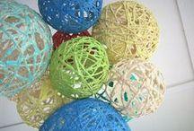 шарики из ниток