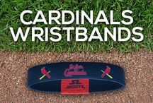 St. Louis Cardinals MLB Wristbands and Fan Gear / Shop for St. Louis Cardinals MLB wristbands and fan gear. Find your teams MLB bracelets and gear at Skootz! http://www.skootz.com/