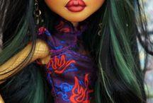 OOAK repaint dolls ideeas / păpusi repictate manual