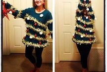 Ugly sweater ideas for xmas / by Christal McPike