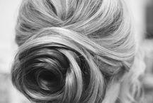 "Bridal hair ideas / Any Girls dream hair-do for the "" I do """