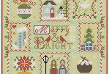 Xmas patterns / Cross stitch
