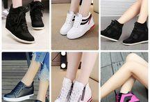Chị em bắp chân to nên đi giày gì để tự tin sải bước