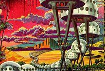 80s Retro Science Fiction Imagery / by Alex Krasny