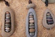 Beach stone jewelry / by Lisa Boettcher