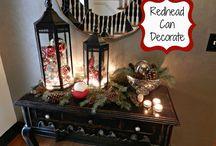 christmas home decor / by Dianna Garcia Kremer