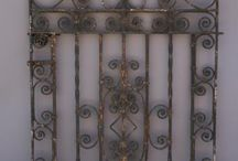 Antique Wrought Iron Fence / Shots I've found of old world wrought iron fence and gates.