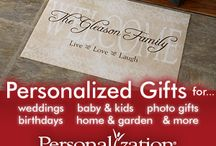 Personalized Gifts / Personalized Gifts is always a great way to give a gift that will make a lasting impression as rarely are those discarded!
