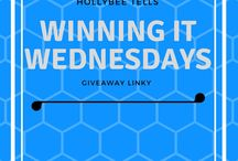 Winning it Wednesdays Giveaway Linky
