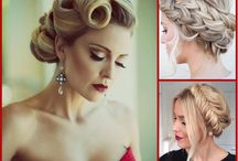 Hair ups / Images of beautiful Hair Up designs