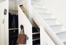 Storage ideas under stairs