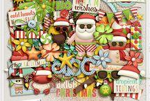 Sunny Santa Elements / http://scraporchard.com/market/download.php?id=6422ee328c4bfa9bc9efd4faa937401f