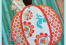 Fall Quilting and Appliqué & Stitching