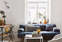 Narrow lounge rooms
