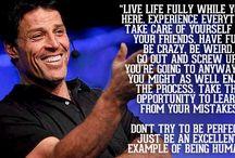 Tony robbins / Inspiration motivation goal setting