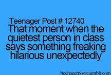 Teenager Posts / by Addison Morris