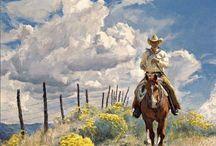 paintings; western