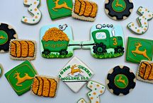 Sablés décorés agriculture