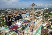 Gedung / Gambar gedung apartemen terbaru di Yogyakarta dan proses pemangunannya.