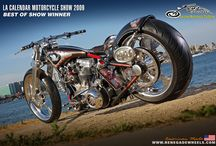 One Eyed king / One Eyed King  LA Calender show Best Of show . Vegas Bike fest Best Of Show  Germany Custom Bike Best Of show . Cool Breaker show Best of show .
