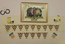 My Bee Baby Shower organization / Arhan'a hoşgeldin partisi