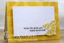 Cards Fruit