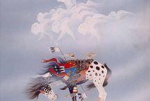 native indian horses