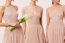 The Pearl Collection / Custom made hand embellished bridesmaid gowns