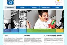 APAC / Presentamos un nuevo sitio (programado y hosteado) con mucho amor para una Fundacion con una causa muy noble: APAC. Los invitamos a visitarla y a que conozcan todo lo que hace APAC http://www.apac.org.mx/