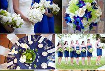 blue green wedding / by Samantha W.