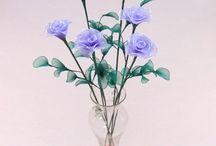 handmade nylon flowers uk