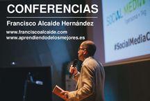 Conferencias / Conferencias de Francisco Alcaide