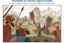 The Battle of Jericho Bible Activities / The battle of Jericho wasn't much of a battle. Joshua did what God told him to do and God did the rest. The Israelites merely stood back and watched God bring down the walls. These activities will help children study this familiar Bible story. Kids will enjoy learning about God's power to fight our battles when we follow Him in obedience.