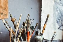 • painting studio •