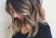 balayage hair brunette