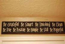 Words of Inspiration  / by Frank Tavakoli