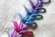 Embroidery and Knitting
