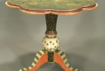 Painted tables / by Linda Hickey
