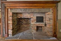 Colonial and Primitive Fireplaces / by Melissa Wessel